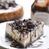 Peanut Butter Oreo Cheesecake
