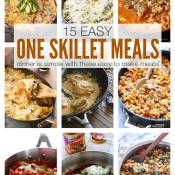 15 Easy One Skillet Meals
