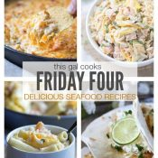 Friday Four 4: Seafood Recipes + Life