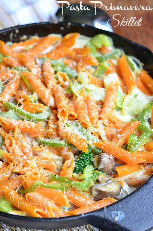 Pasta-Primavera-Skillet-from-willcookforsmiles.com-pasta-skillet-vegetarian