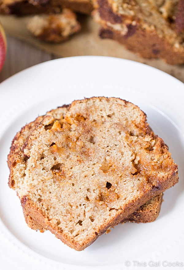 Apple Pie Butterscotch Snickerdoodle Bread   This Gal Cooks