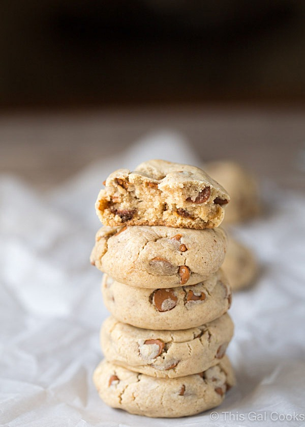 Pumpkin Cinnamon Chip Cream Cheese Cookies2
