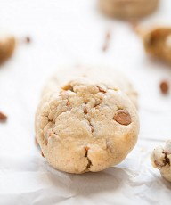 Pumpkin Cinnamon Chip Cream Cheese Cookies | This Gal Cooks #dessert