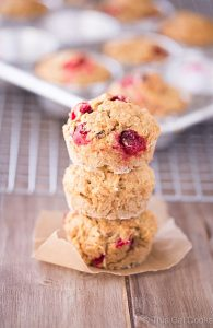 Cranberry Walnut Muffins are my new favorite breakfast | This Gal Cooks