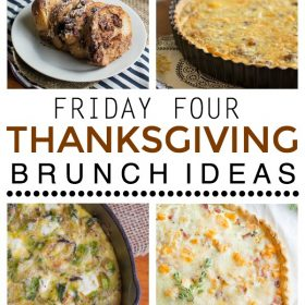 Friday Four: Four Thanksgiving Brunch Ideas | This Gal Cooks #recipes