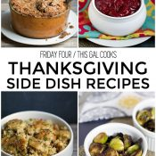 Friday Four 11: Thanksgiving Side Dish Recipes