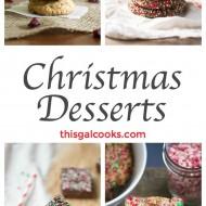 Friday Four 14: Christmas Desserts
