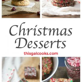 Friday Four 14: Christmas Desserts