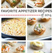 Favorite Appetizer Recipes from 2014