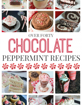 Over 40 Chocolate Peppermint Recipes for Christmas