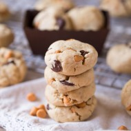 Soft Butterscotch Chocolate Chip Cookies