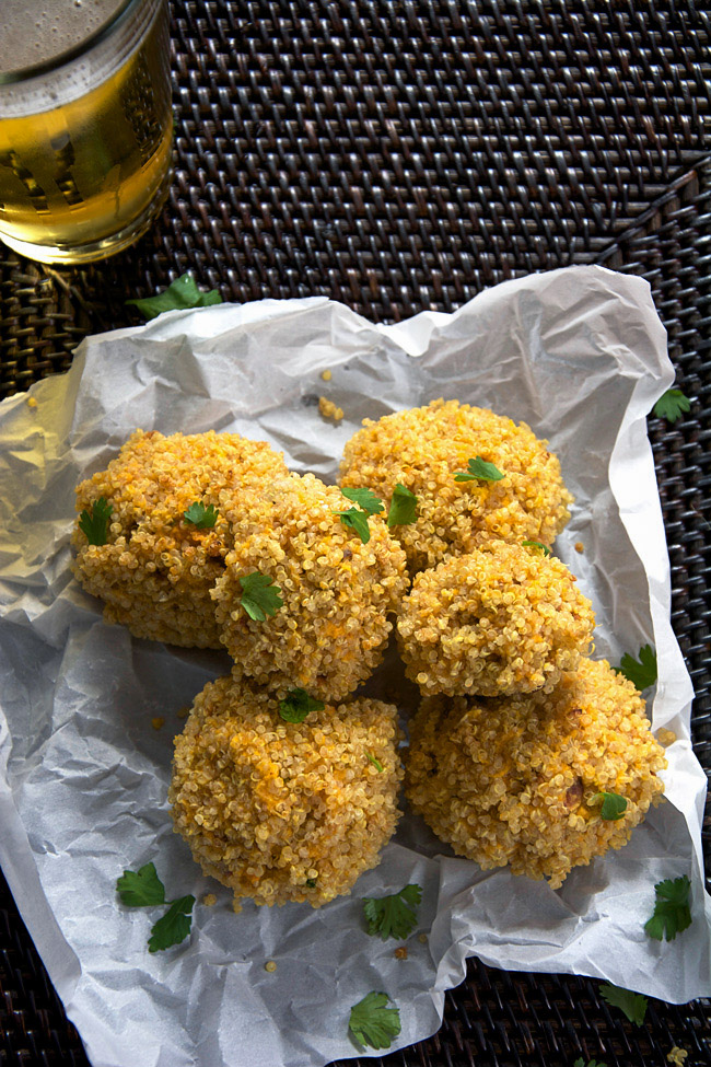 Quinoa Crusted Sweet Potato Bites | The Housewife In Training Files