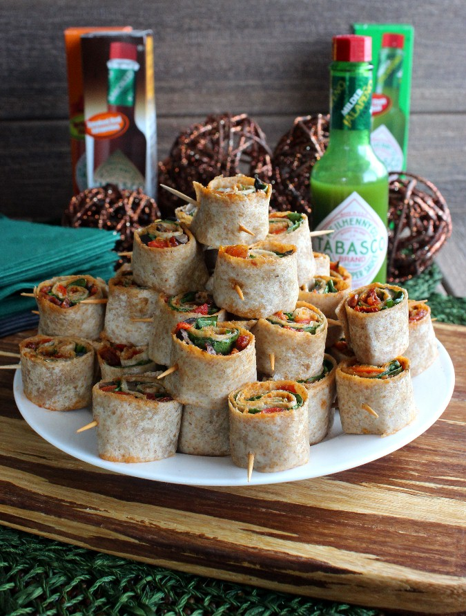 Spicy Tortilla Rollups | Vegan In The Freezer