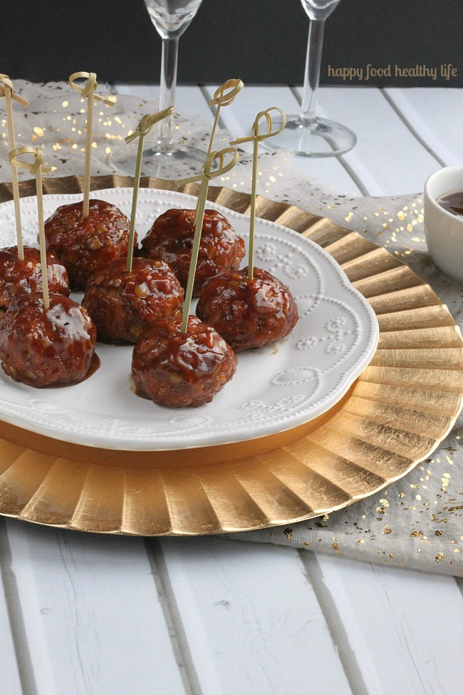 Vegetarian Sweet and Sour Porcupine Meatballs | Happy Food Healthy Life