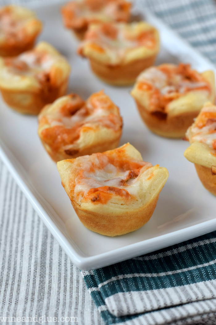 Pepperoni Pizza Cups | Wine and Glue