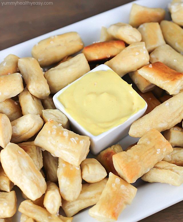 Pretzel Bites | Yummy Healthy Easy