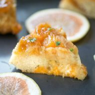Grapefruit Upside Down Cake