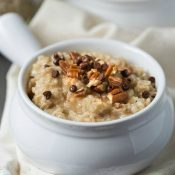 Homemade Maple Brown Sugar Oatmeal