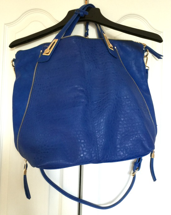 Stitch Fix #9: Rex Hardware Detail Crossbody Hobo Bag | This Gal Cooks
