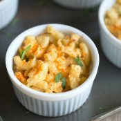 Homemade Mac and Cheese with Chipotle Gouda + Brown Ale