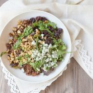 Baby Greens Salad with Quinoa
