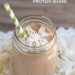 A simple breakfast recipe: Almond Joy Protein Shake. Great meal replacement at 460 calories! This will keep you full until lunch!