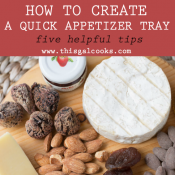 How to Create a Quick Appetizer Tray (5 simple tips)