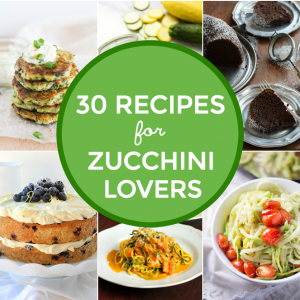 30 Delicious Recipes for Zucchini Lovers | This Gal Cooks