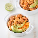 Spicy Shrimp Cucumber Noodle Bowl | This Gal Cooks