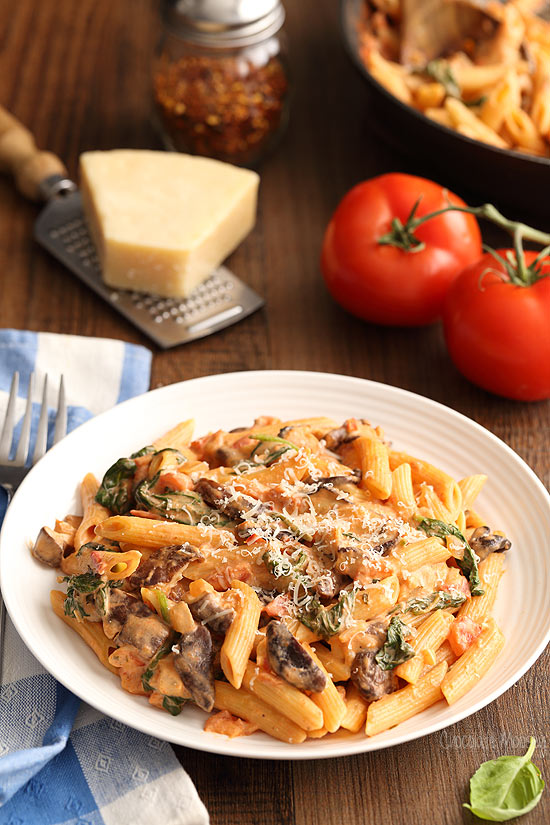 Creamy-Tomato-and-Mushroom-Pasta-8046