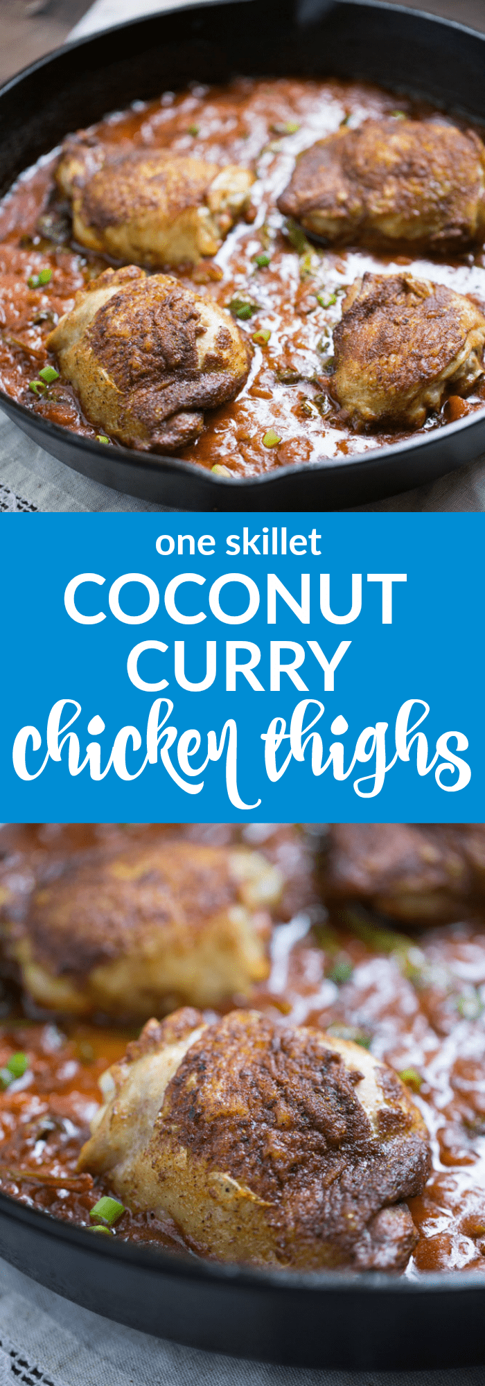 One Skillet Coconut Curry Chicken Salad (gluten free + paleo)