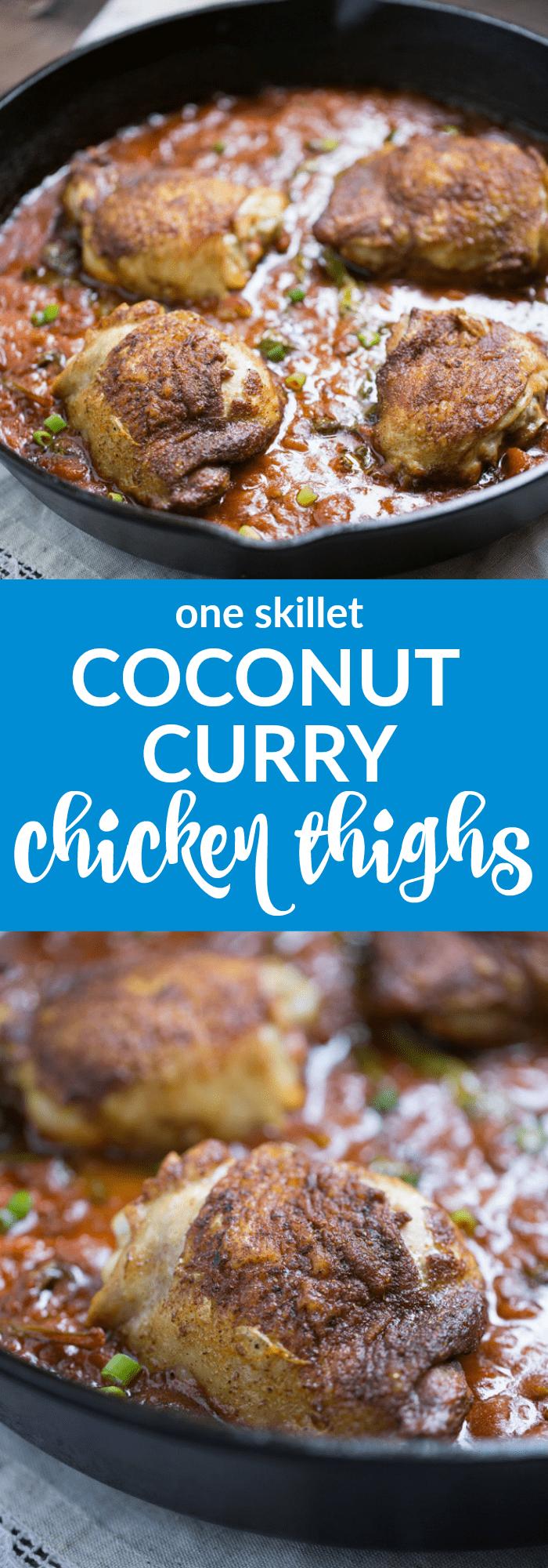 One Skillet Coconut Curry Chicken Salad (gluten free + paleo)