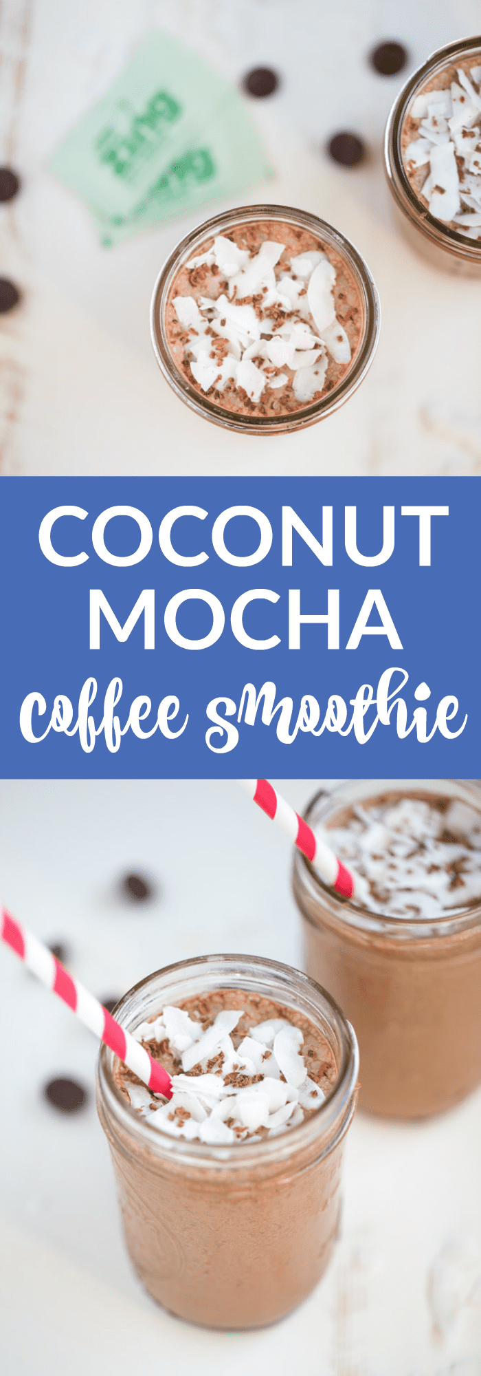 Coconut Mocha Coffee Smoothie