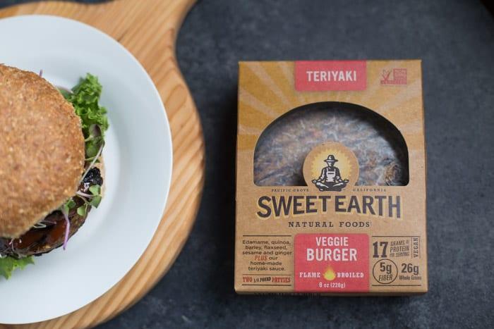 Teriyaki Veggie Burger 2