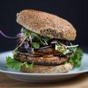 Teriyaki Veggie Burger + a Giveaway