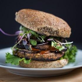 Teriyaki Veggie Burger