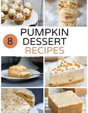 8 Pumpkin Dessert Recipes