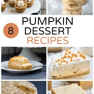 8 Pumpkin Dessert Recipes
