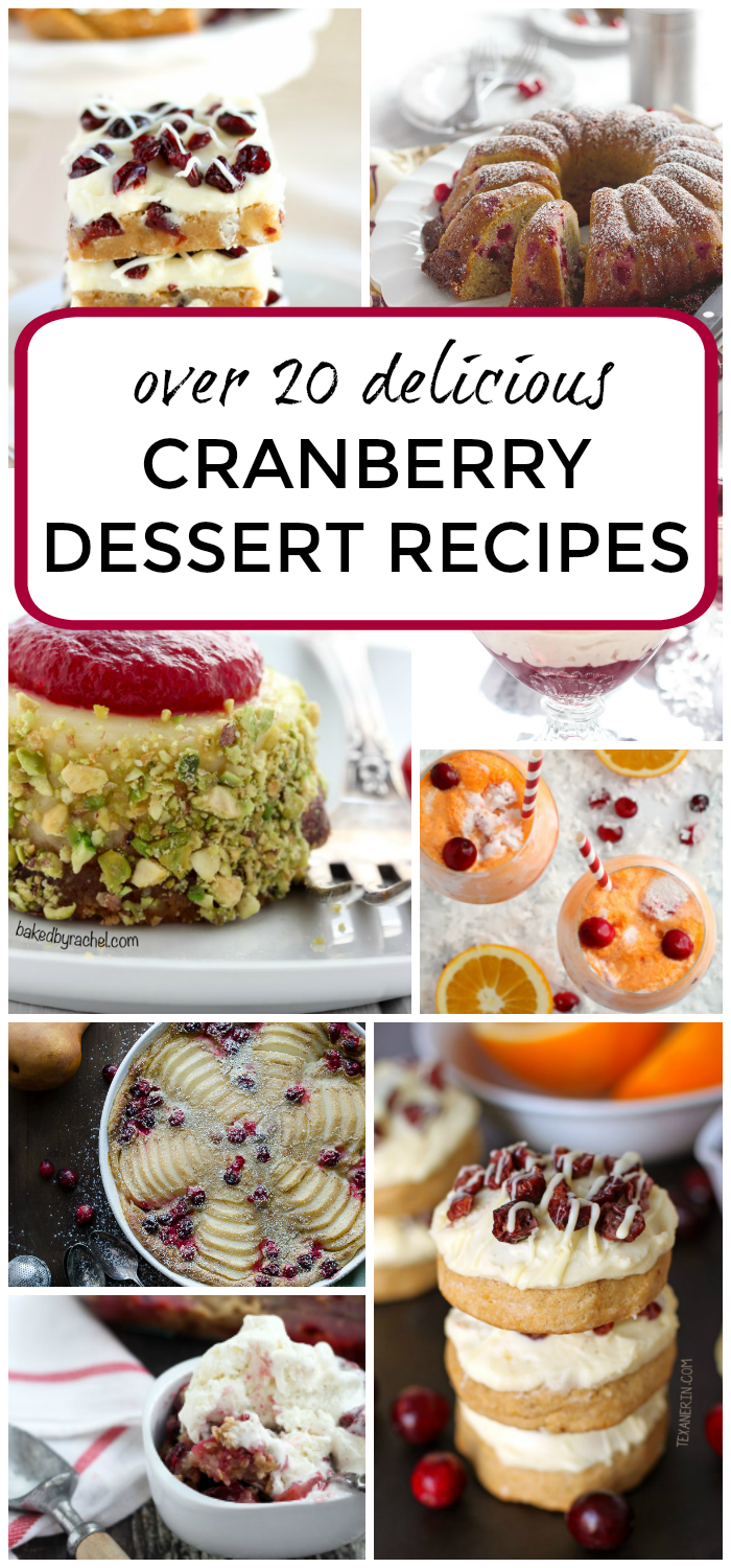 Cranberry dessert recipes over 20 this gal cooks youre probably looking for a few more dessert recipes to add to your christmas solutioingenieria Choice Image