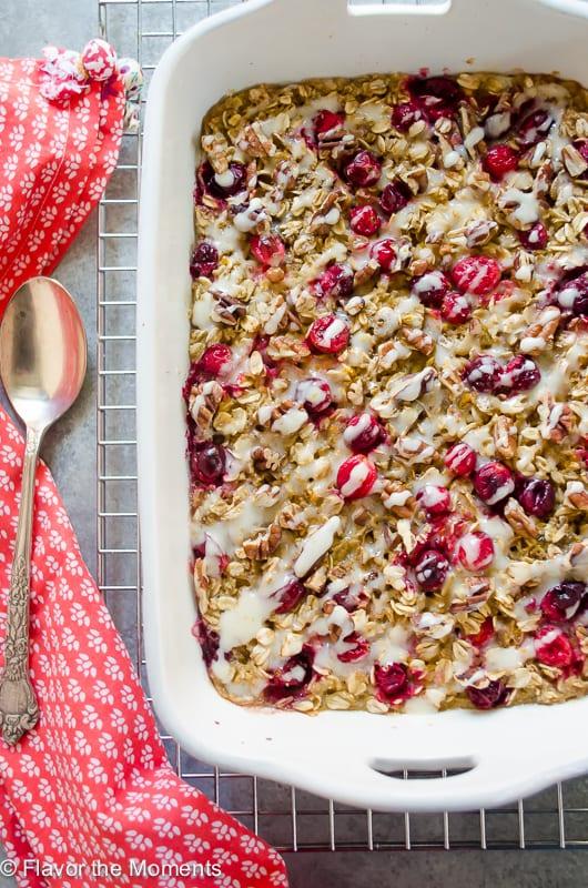 cranberry-orange-baked-oatmeal-with-orange-cream-cheese-glaze1-flavorthemoments-com_