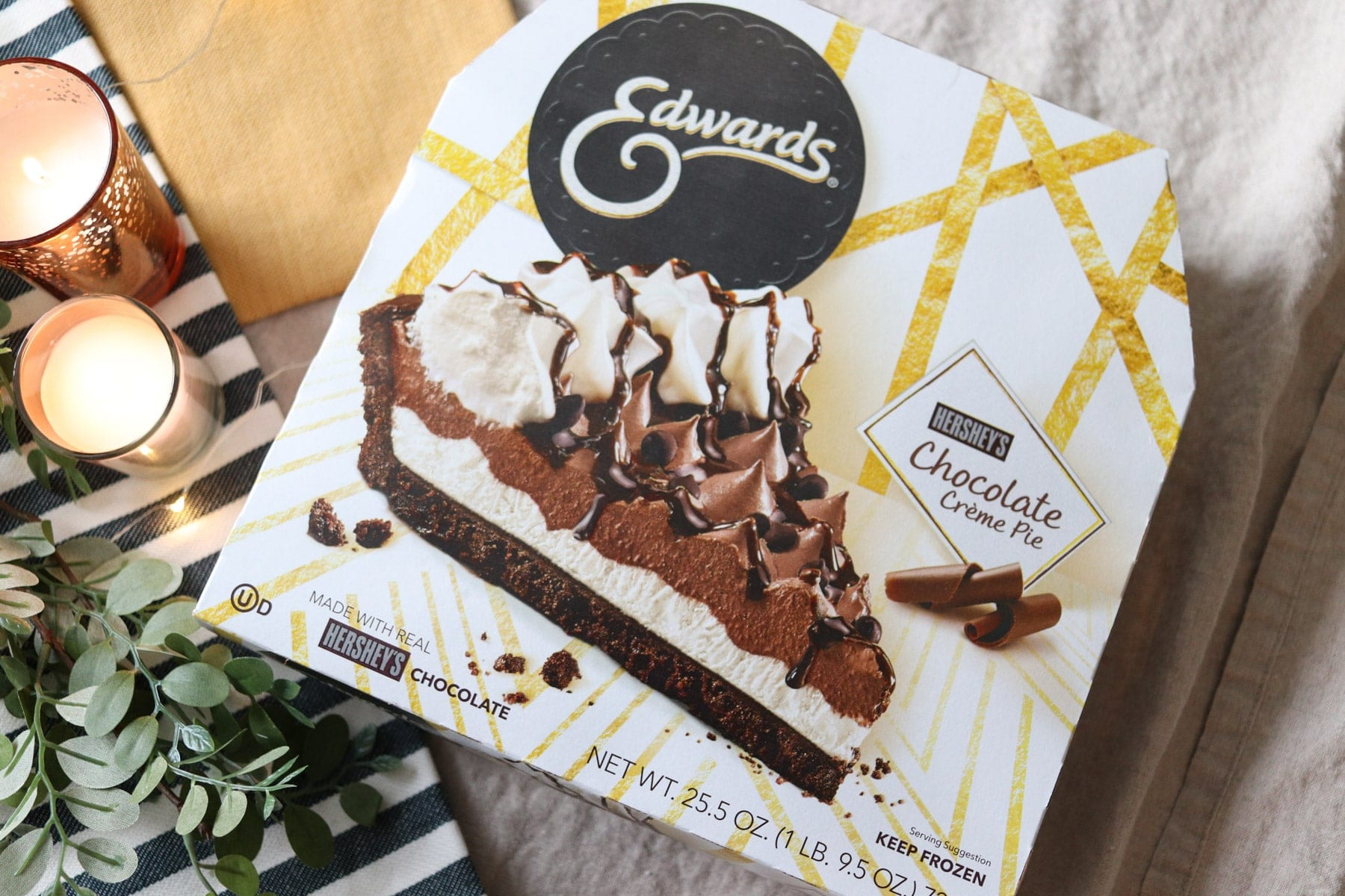 Edwards Hershey's Chocolate Crème Pie Packaging