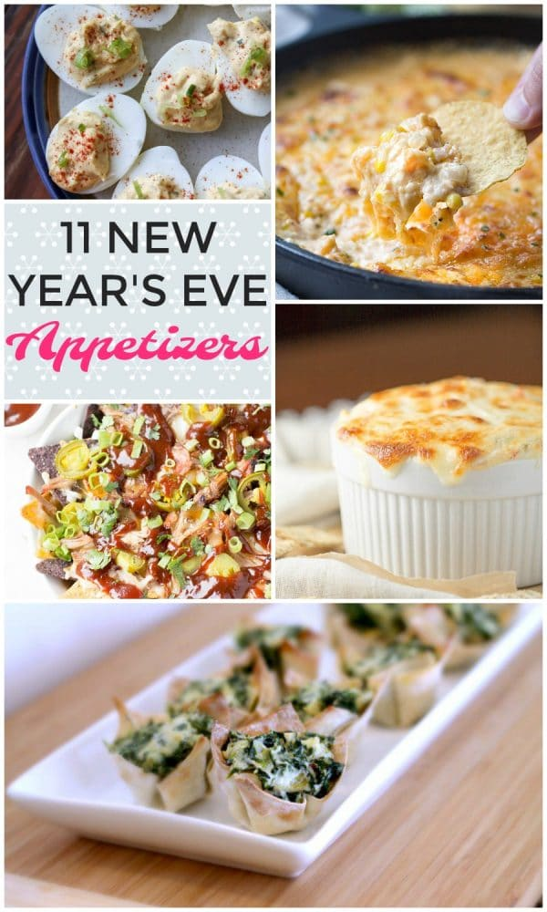 11 New Year's Eve Appetizers #appetizer #newyearseve #partyfood
