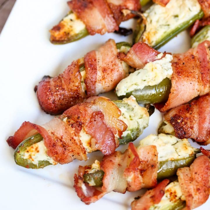 Paleo Jalapeno Poppers (wrapped in bacon)