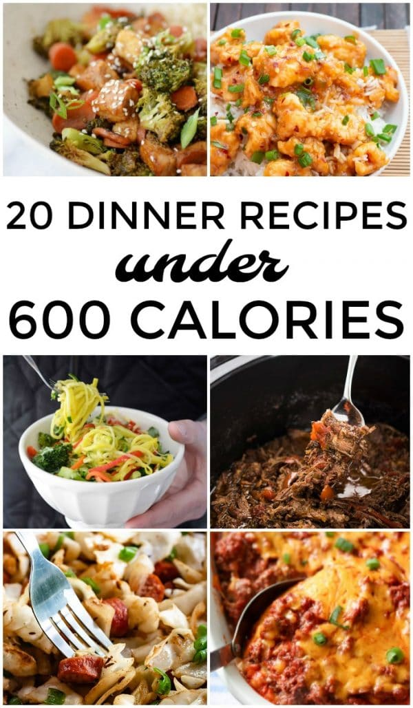 20 Dinner Recipes Under 600 Calories | This Gal Cooks