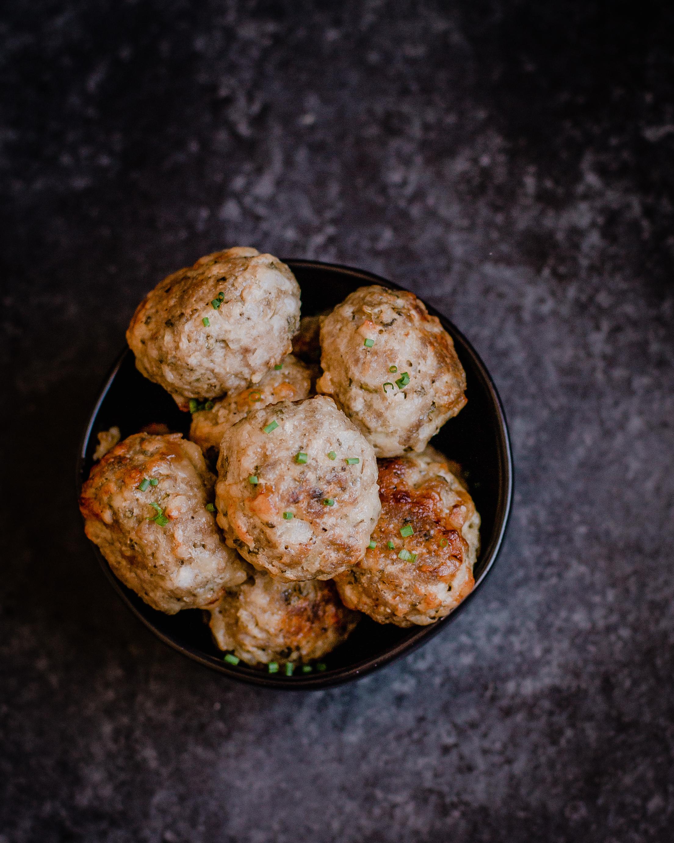 Keto Pork Meatballs