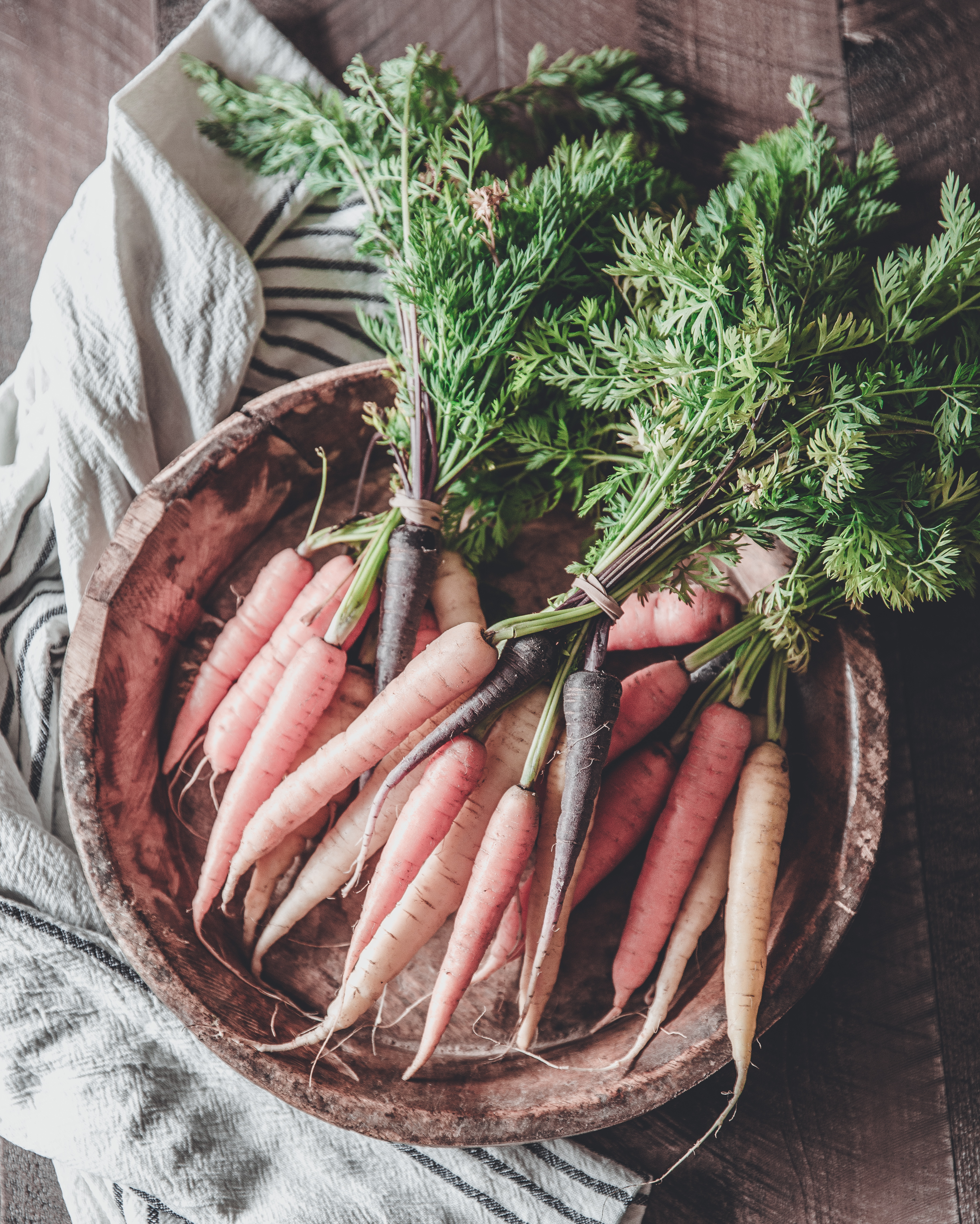 Rainbow Carrots | This Gal Cooks