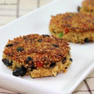 Recipe: Mexican Style Quinoa Patties