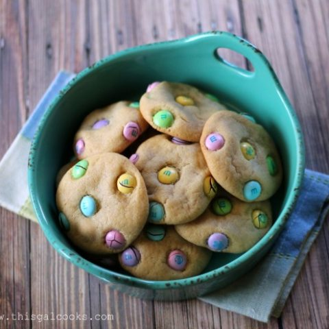 Recipe: Easter M&M Cookies