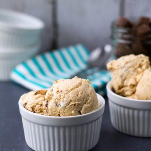 Fluffernutter Peanut Butter Cup Ice Cream