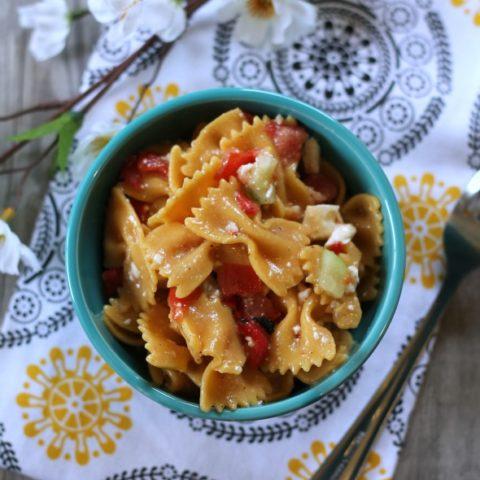 Recipe: Greek Style Pasta Salad